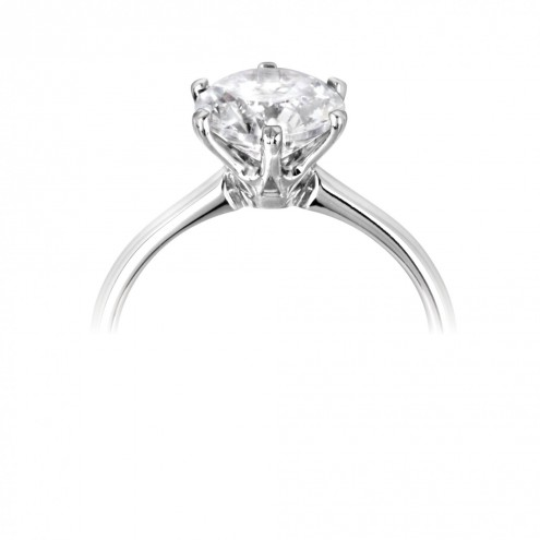 0.46ct Brilliant Cut Diamond Solitaire Ring