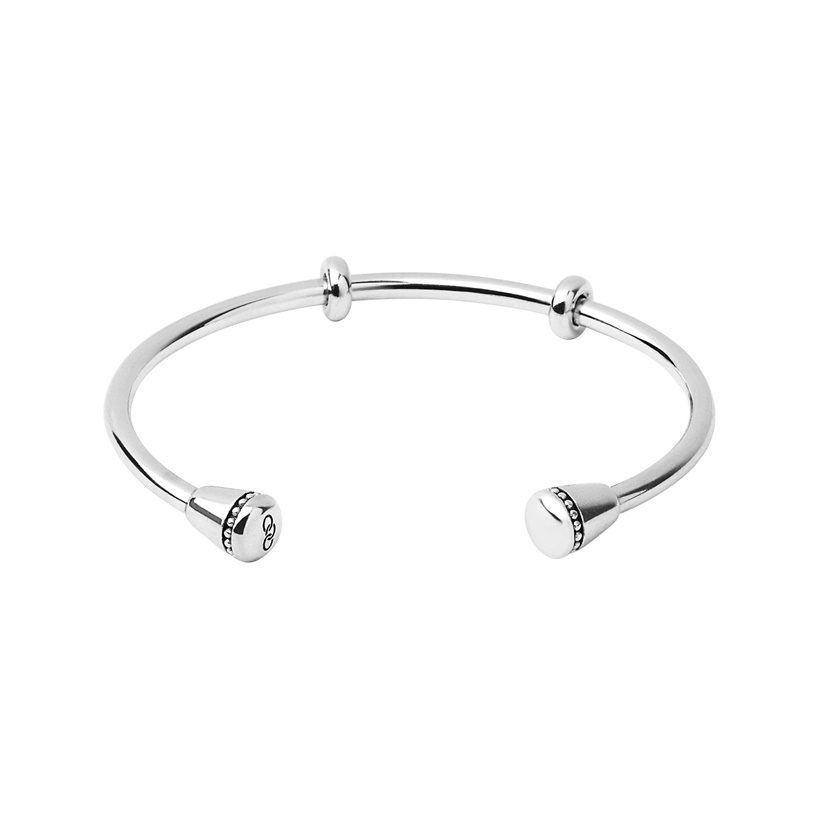 Links of London Large Silver Amulet Cuff-0