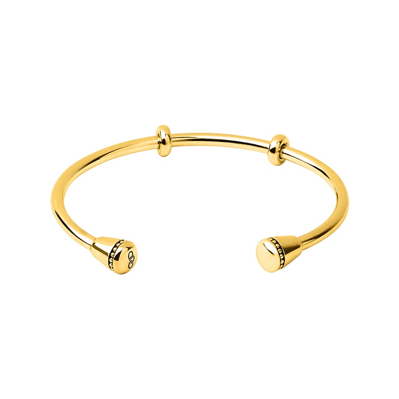 Links of London Amulet 18kt Yellow Gold Vermeil Charm Cuff-0