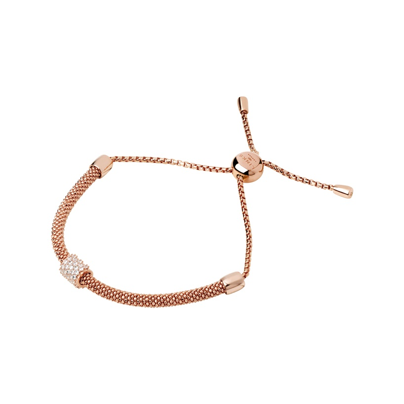 Links of London Starlight 18ct Rose Gold Vermeil & Sapphire Bead Bracelet-0