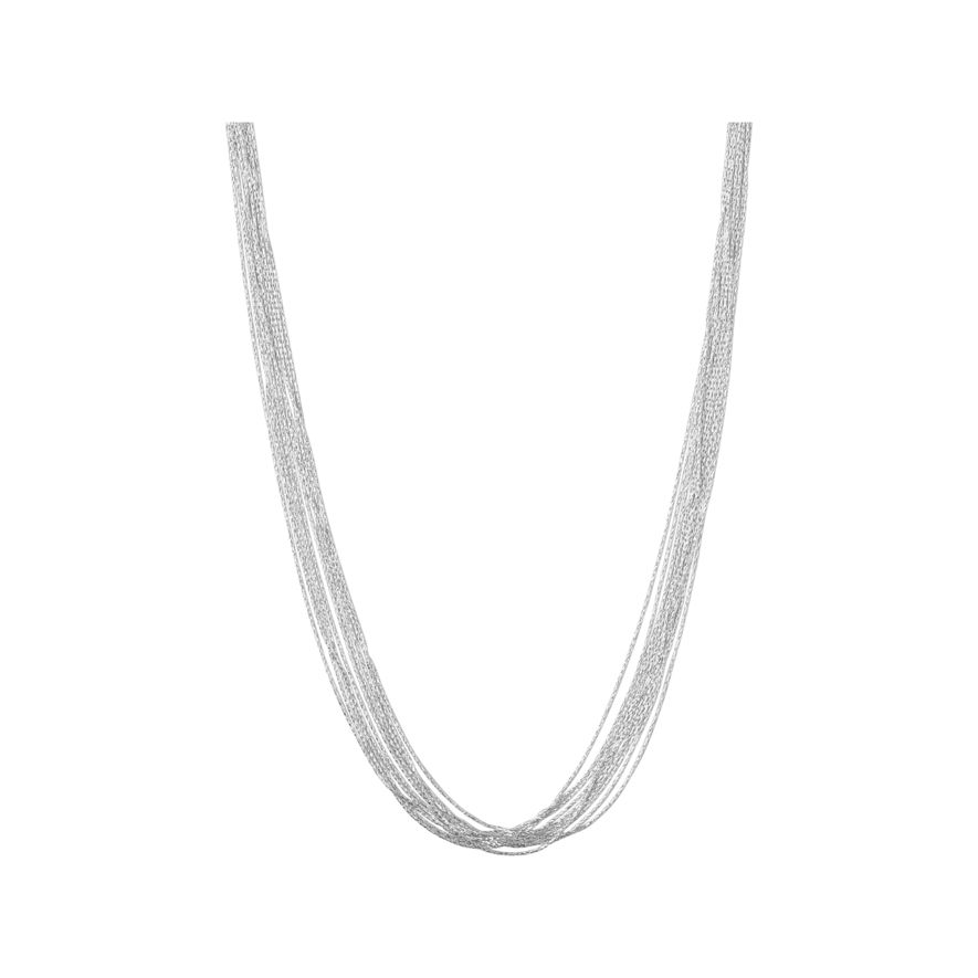 Links of London 80cm Essential Silk Sterling Silver Necklace