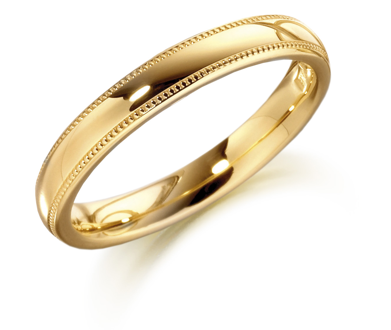 6mm 9ct Yellow Gold Wedding Ring-0