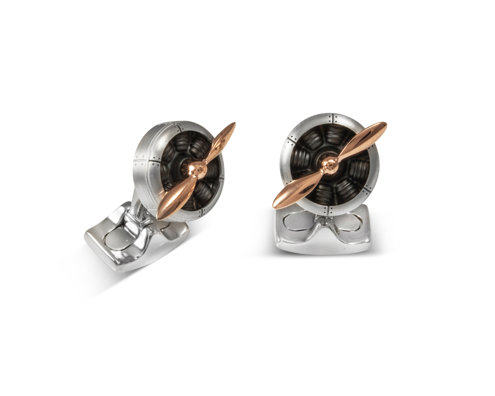 Sopwith Propeller Cufflinks-0