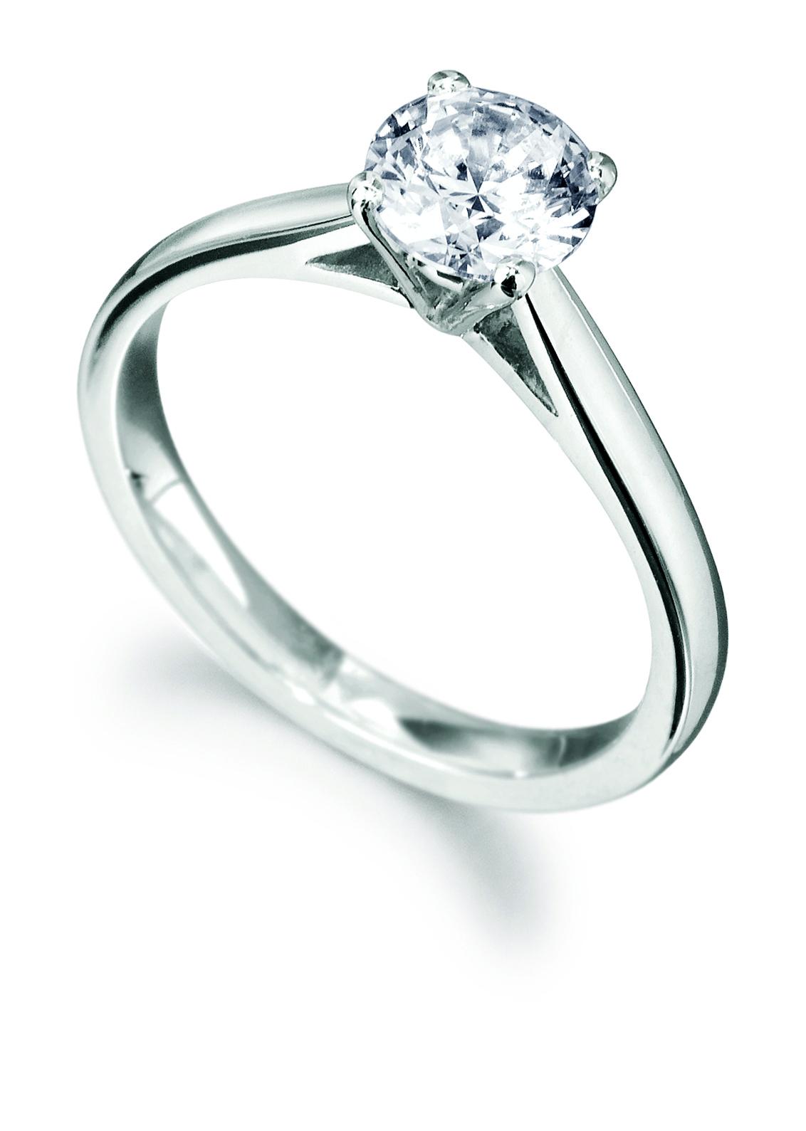 0.71ct Brilliant Cut Diamond Solitaire Ring