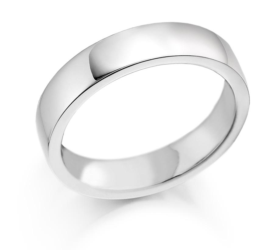 6mm Palladium 500 Wedding Ring-0