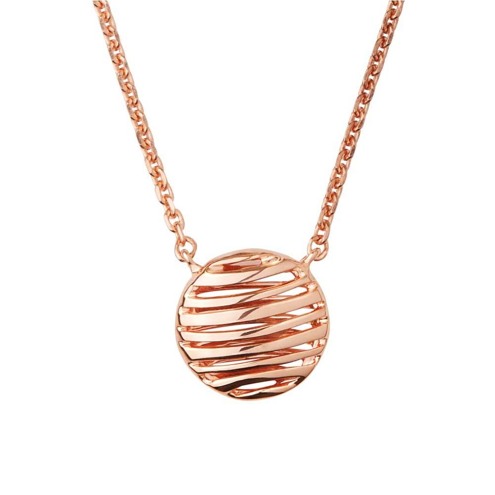 Links of London Thames Rose Gold Vermeil Necklace-0