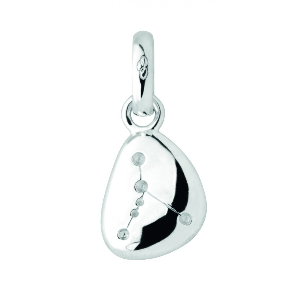 Links of London Silver Zodiac Pebble Cancer Charm-0
