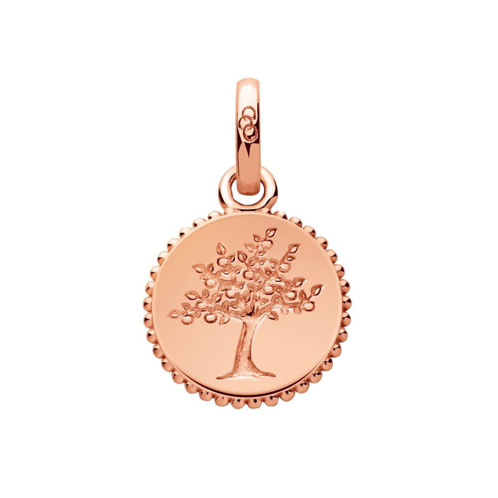 Links of London Amulet Keepsakes Rose Gold Tree of Life Pendant Charm -0