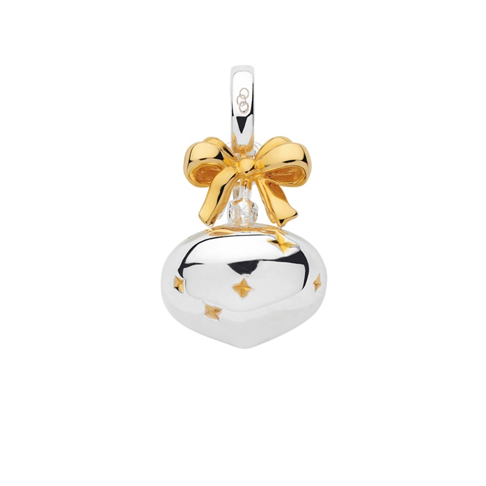 Links of London Sterling Silver & 18kt Yellow Gold Vermeil Bauble Charm-0
