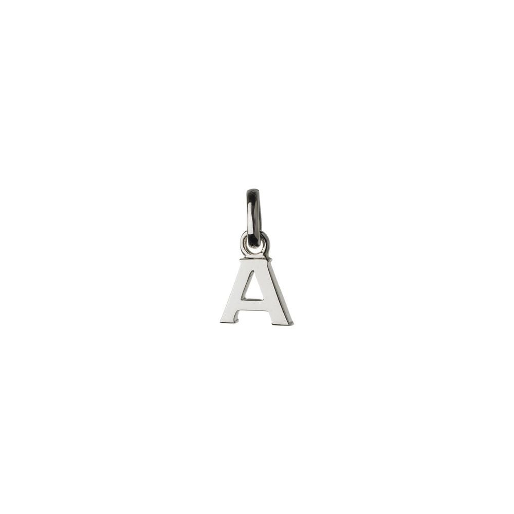 Links of London Sterling Silver Letter A Charm-0