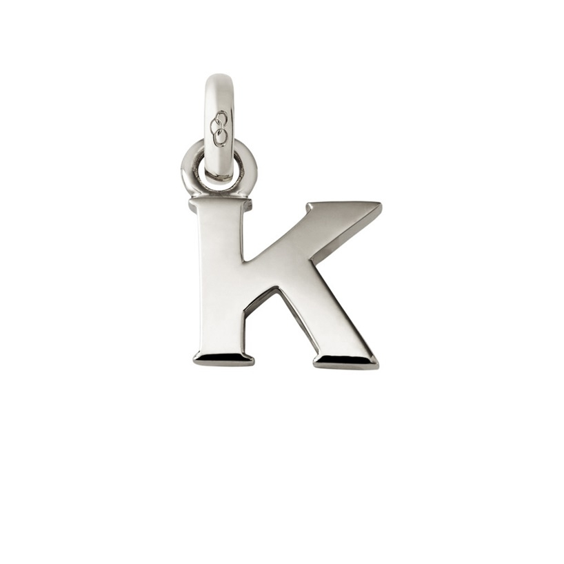 Links of London Sterling Silver Letter K Charm-0