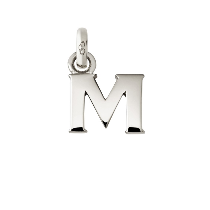 Links of London Sterling Silver Letter M Charm-0
