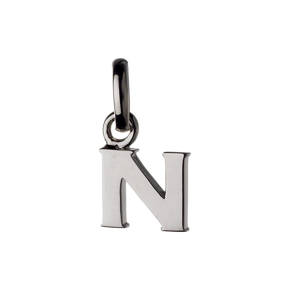 Links of London Sterling Silver Letter N Charm-0