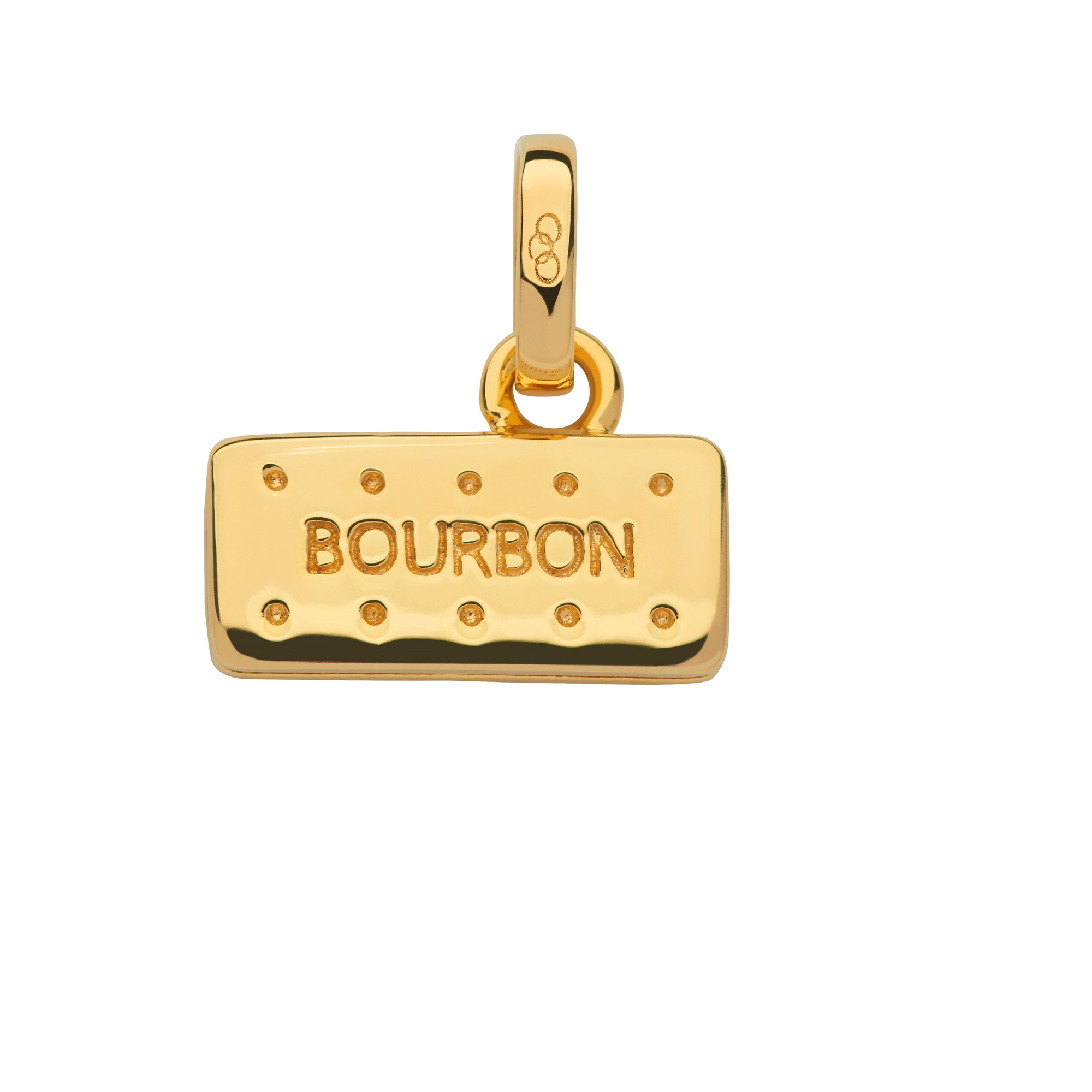 Links of London 18kt Yellow Gold Vermeil Bourbon Biscuit Charm-0