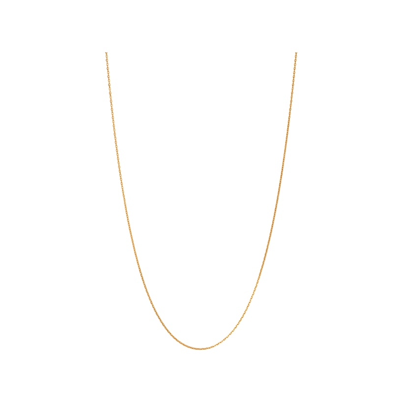 Links of London Essentials 18ct Yellow Gold Vermeil 70cm Cable Chain -0