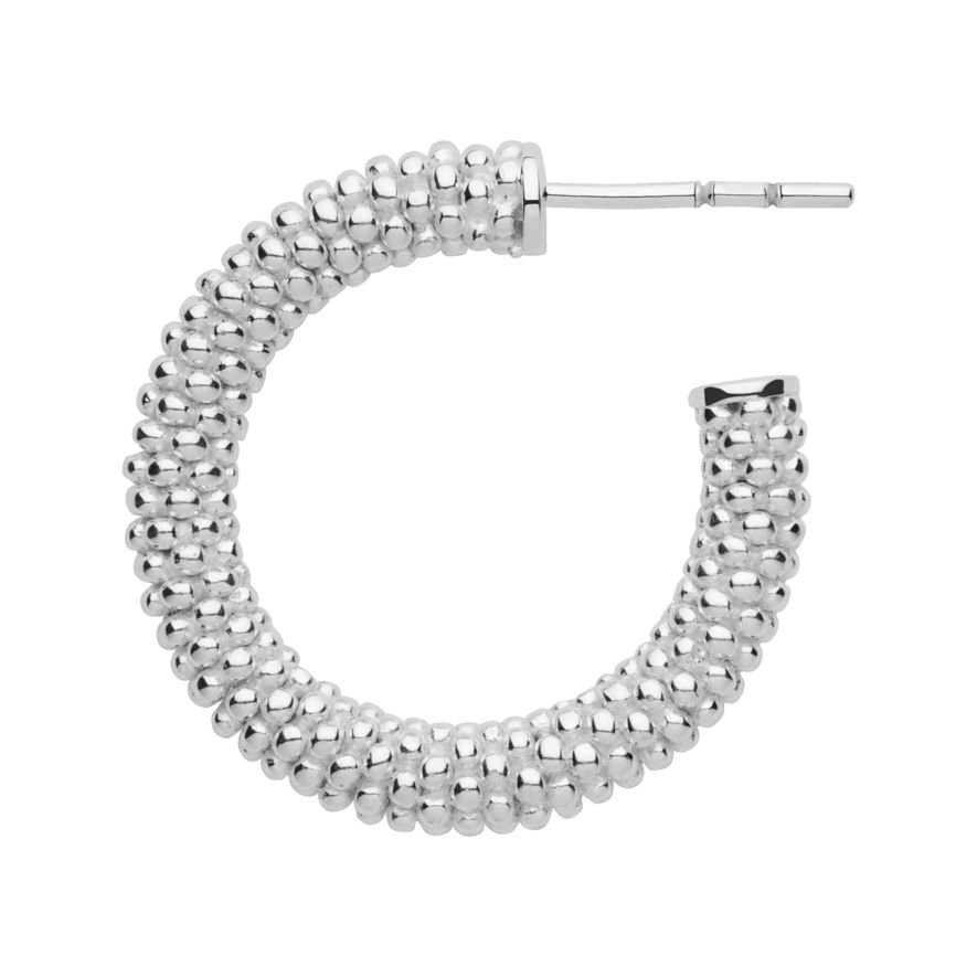 8af802d7b Links of London Effervescence Silver Star XS Hoop Earrings