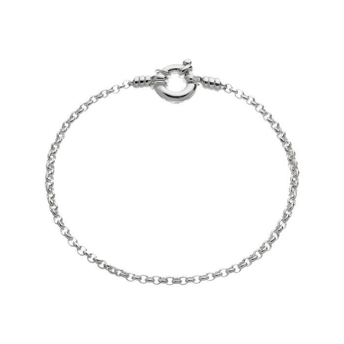 Links of London Sterling Silver Mini Belcher Bracelet -0