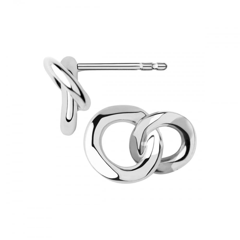 Links of London 20/20 Sterling Silver Stud Earrings-0