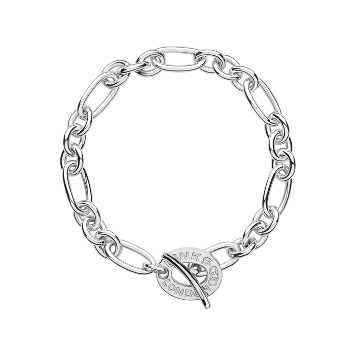 Links of London Signature Charm Chain Bracelet -0