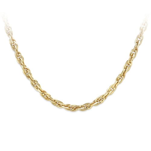 9ct Yellow Gold Prince of Wales Design Necklace-0