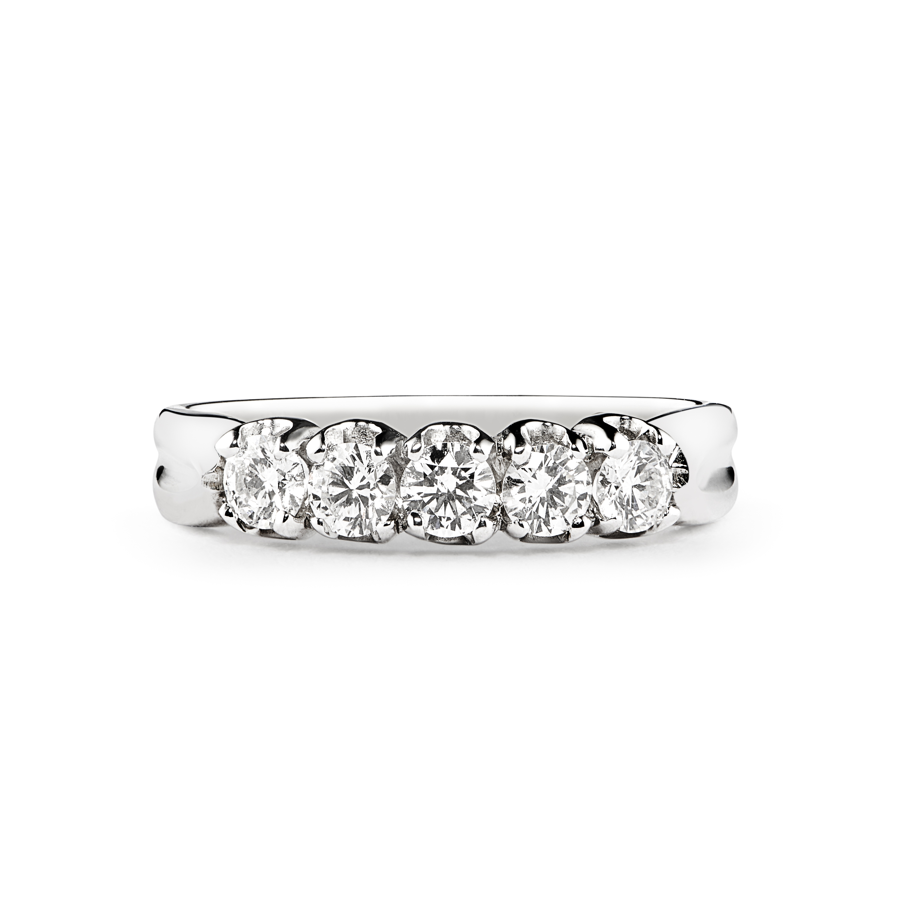0.30ct Brilliant Cut 5 Stone Diamond Ring