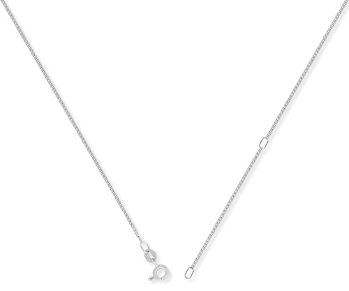 0.08ct 9ct White Gold Pendant
