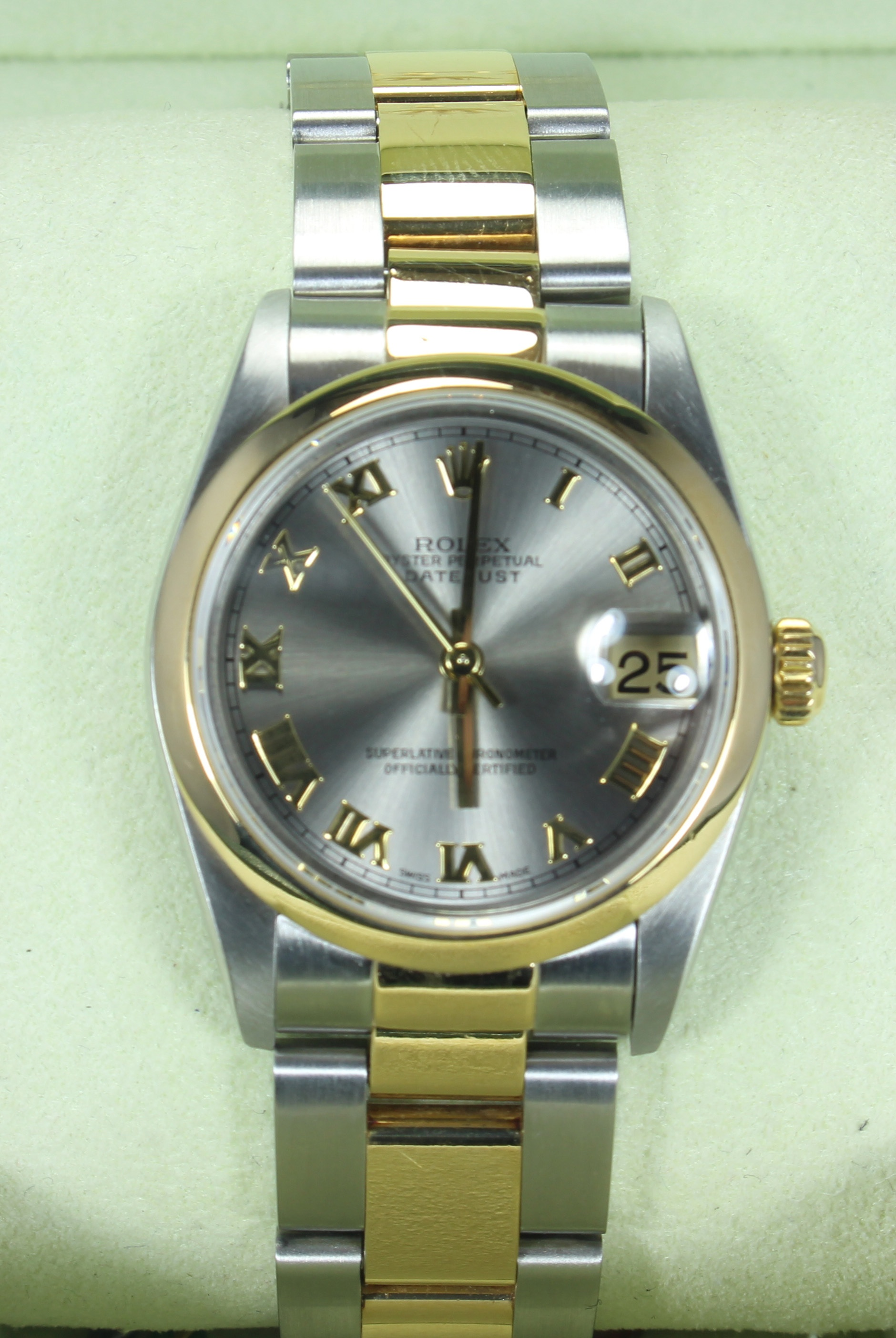 Ladies Datejust Silver Dial