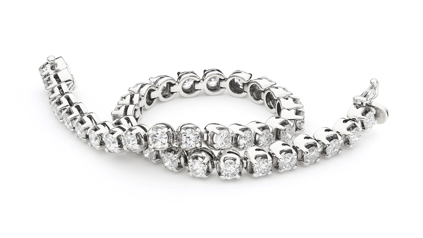 Flexi Link Diamond Bracelet