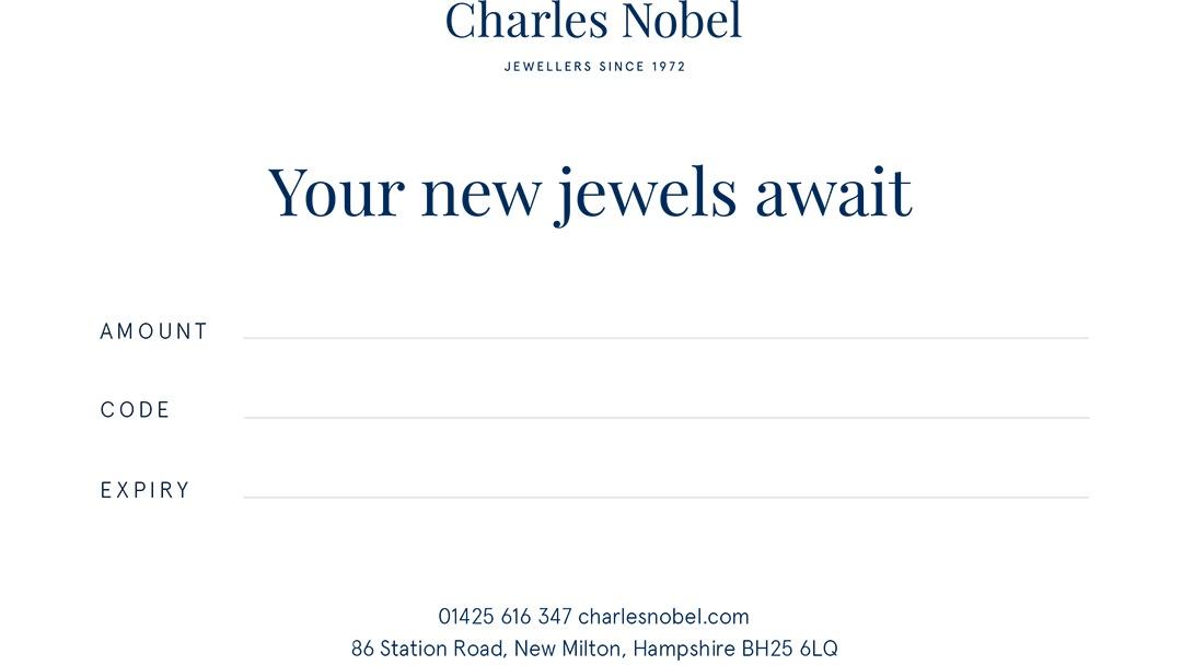 Charles Nobel Gift Voucher