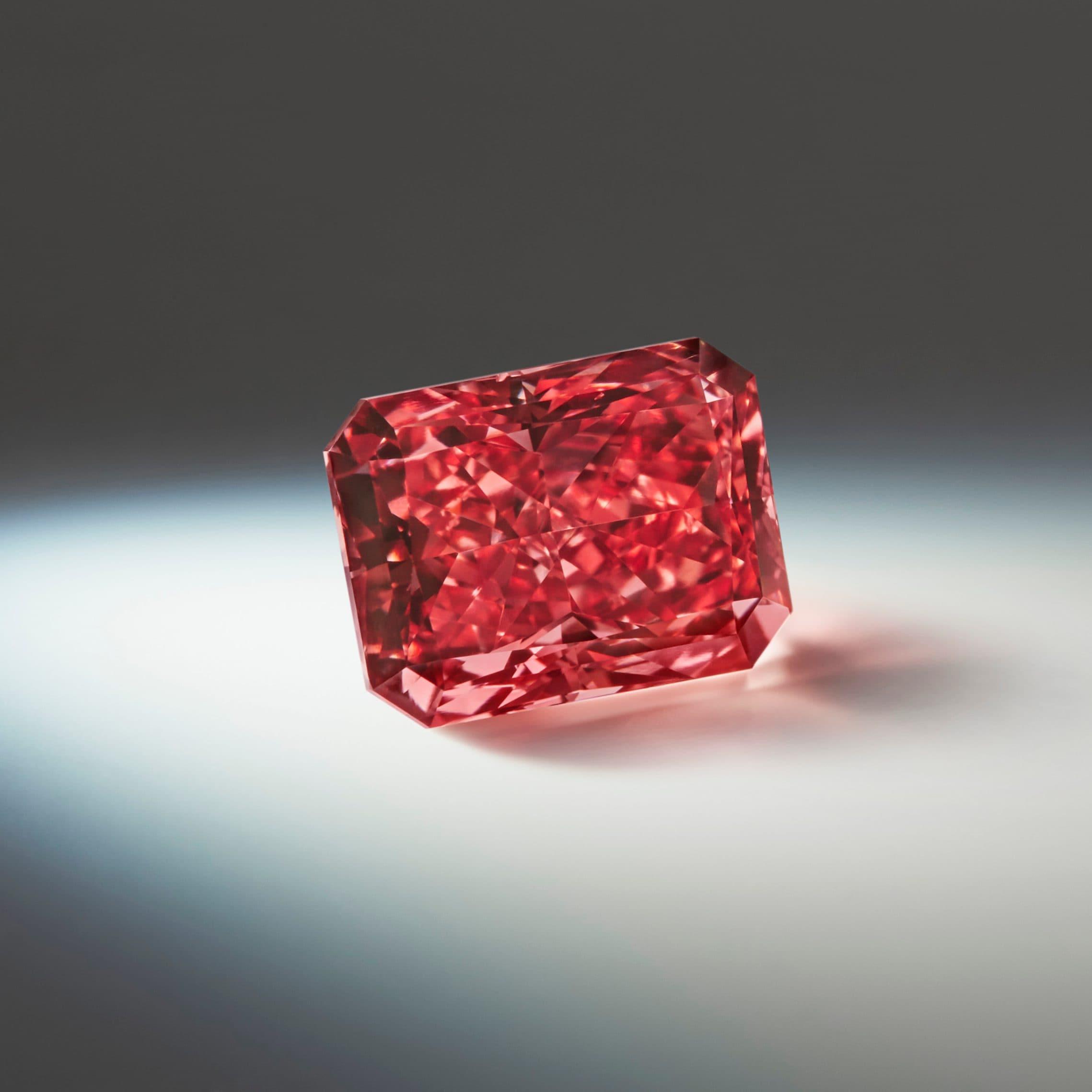 Fancy Apple Red Diamond
