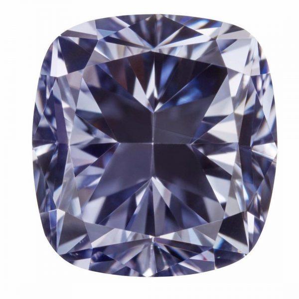 Grey violet diamond