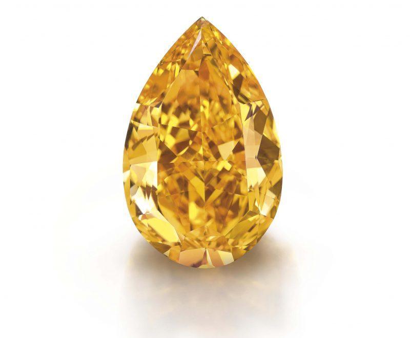 Fancy Orange Diamond