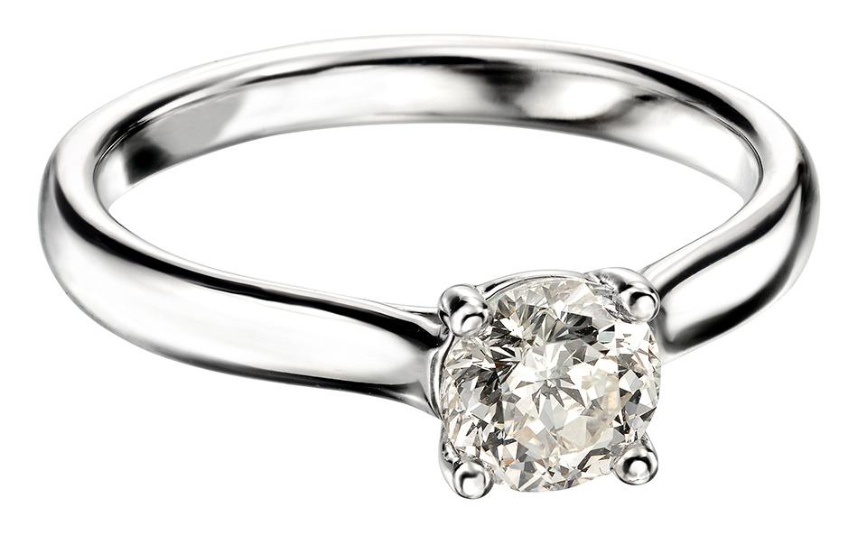0.25ct Mastercut Diamond 4 Claw Elegance Ring