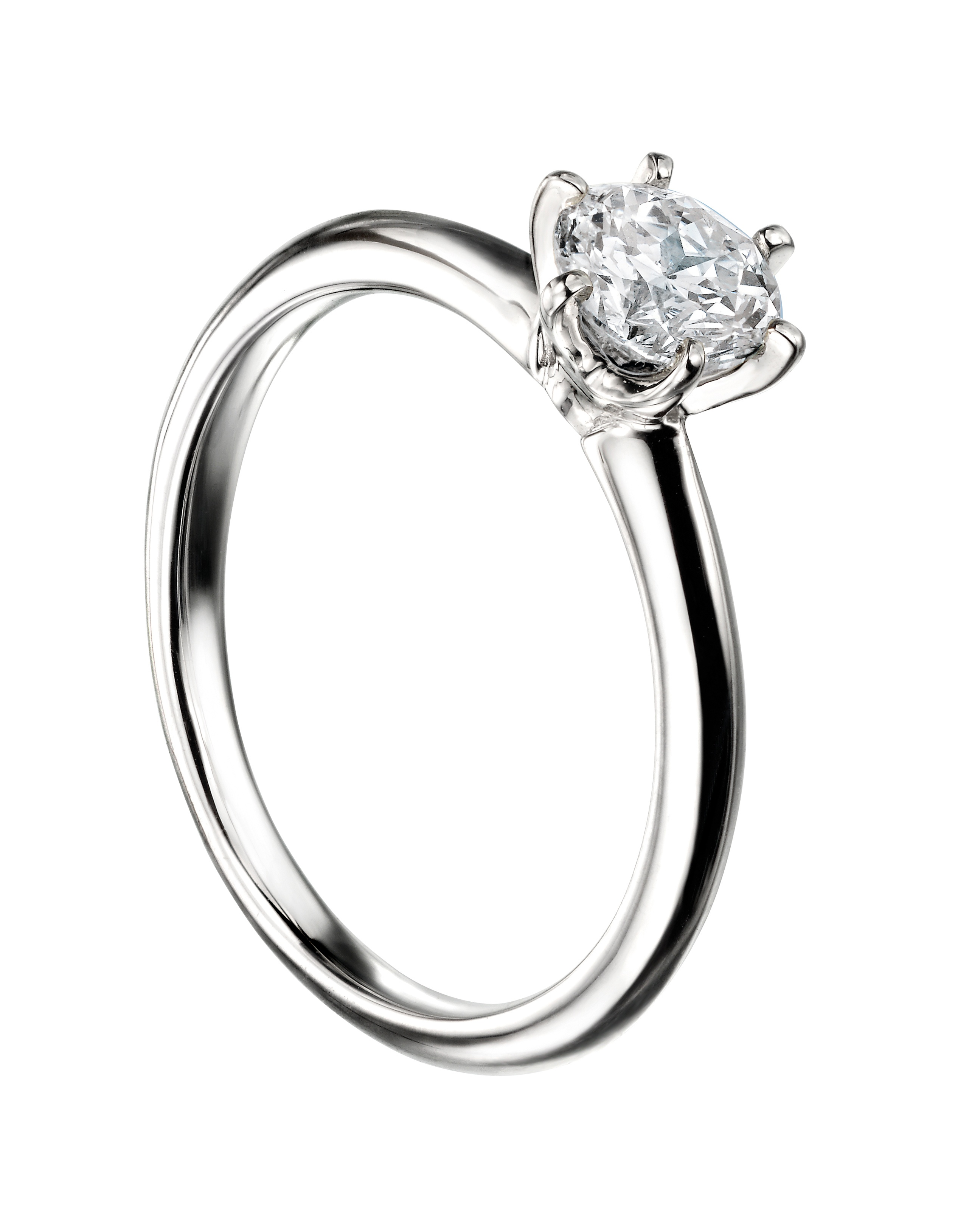 0.25ct Mastercut Diamond 6 Claw Simplicity Ring