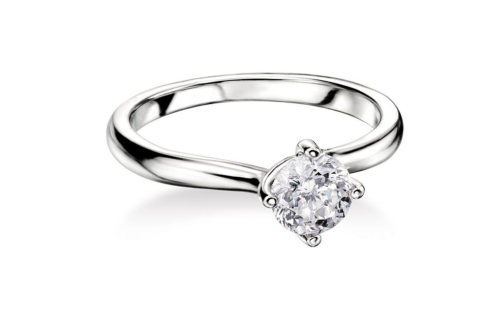 0.25ct Mastercut Diamond 4 Claw Grace Ring