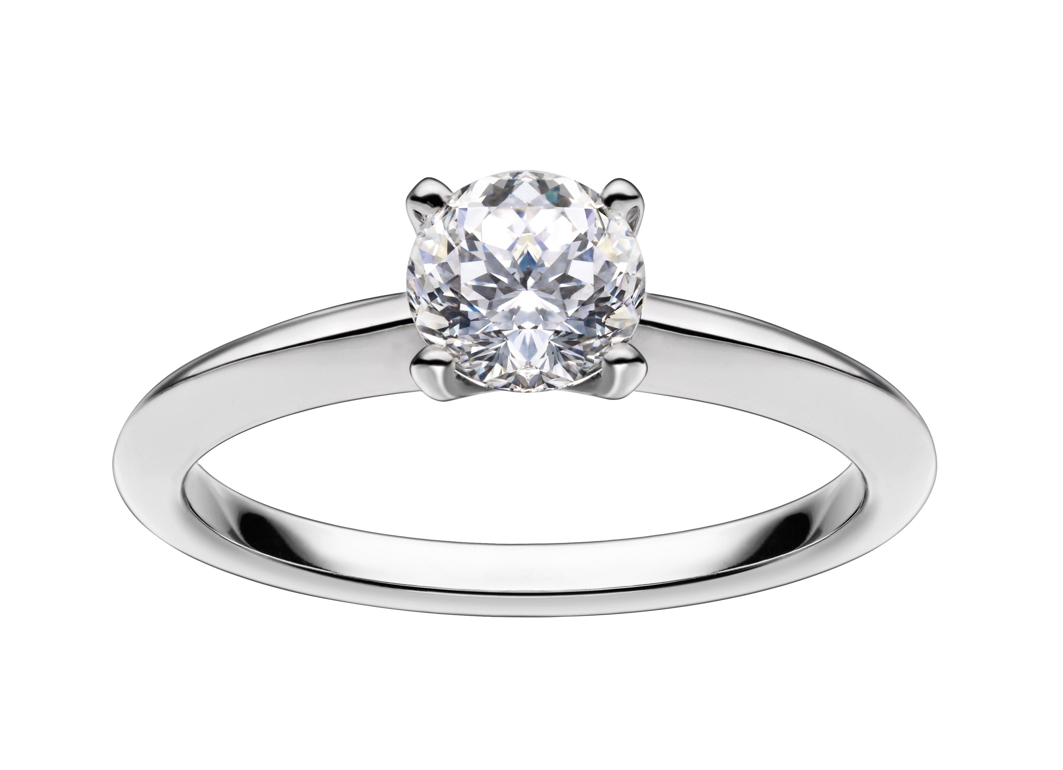0.55ct Mastercut Diamond 4 Claw Simplicity Ring – 18ct Yellow Gold