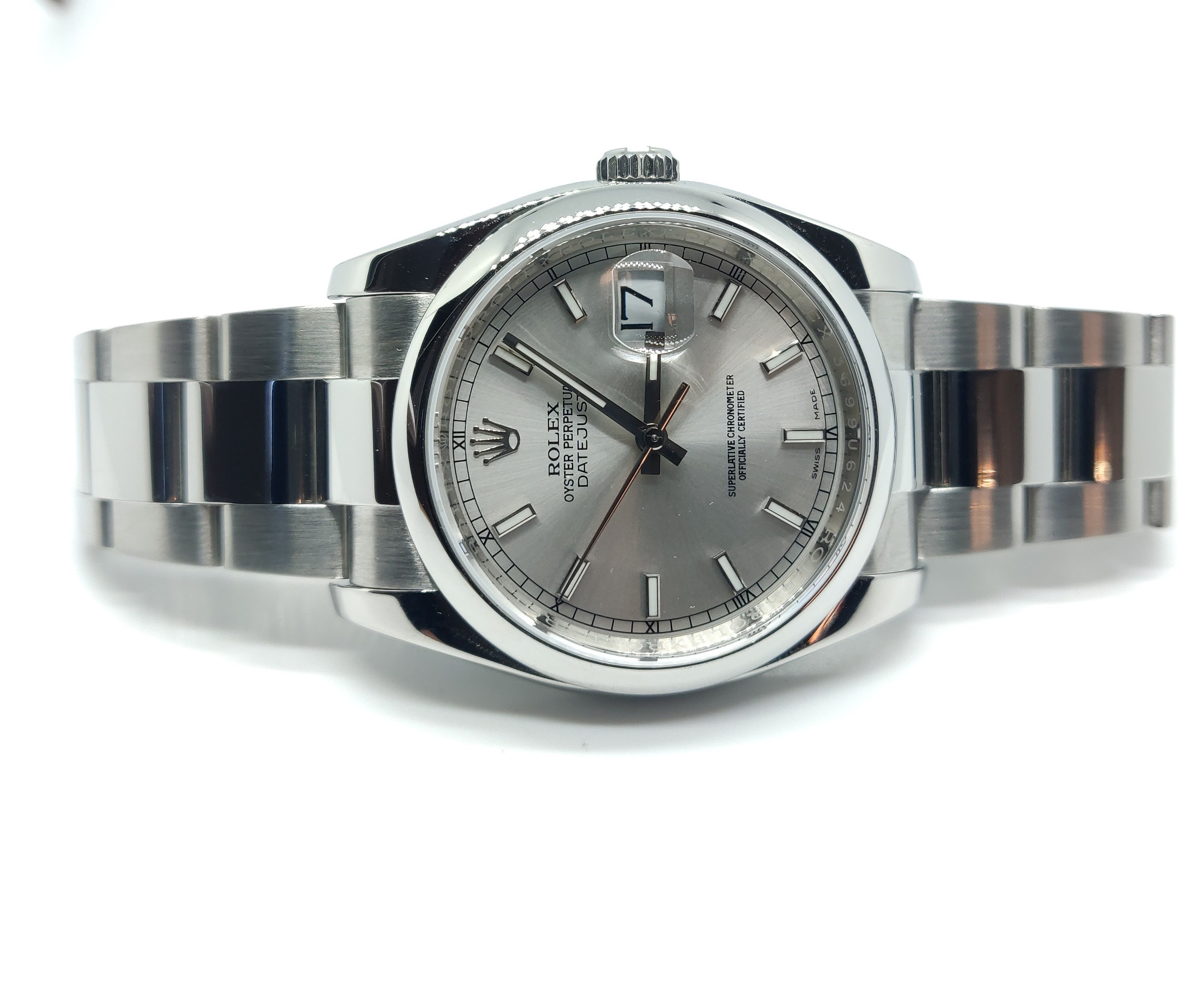 Rolex Datejust 36 With Silver Dial – 116200