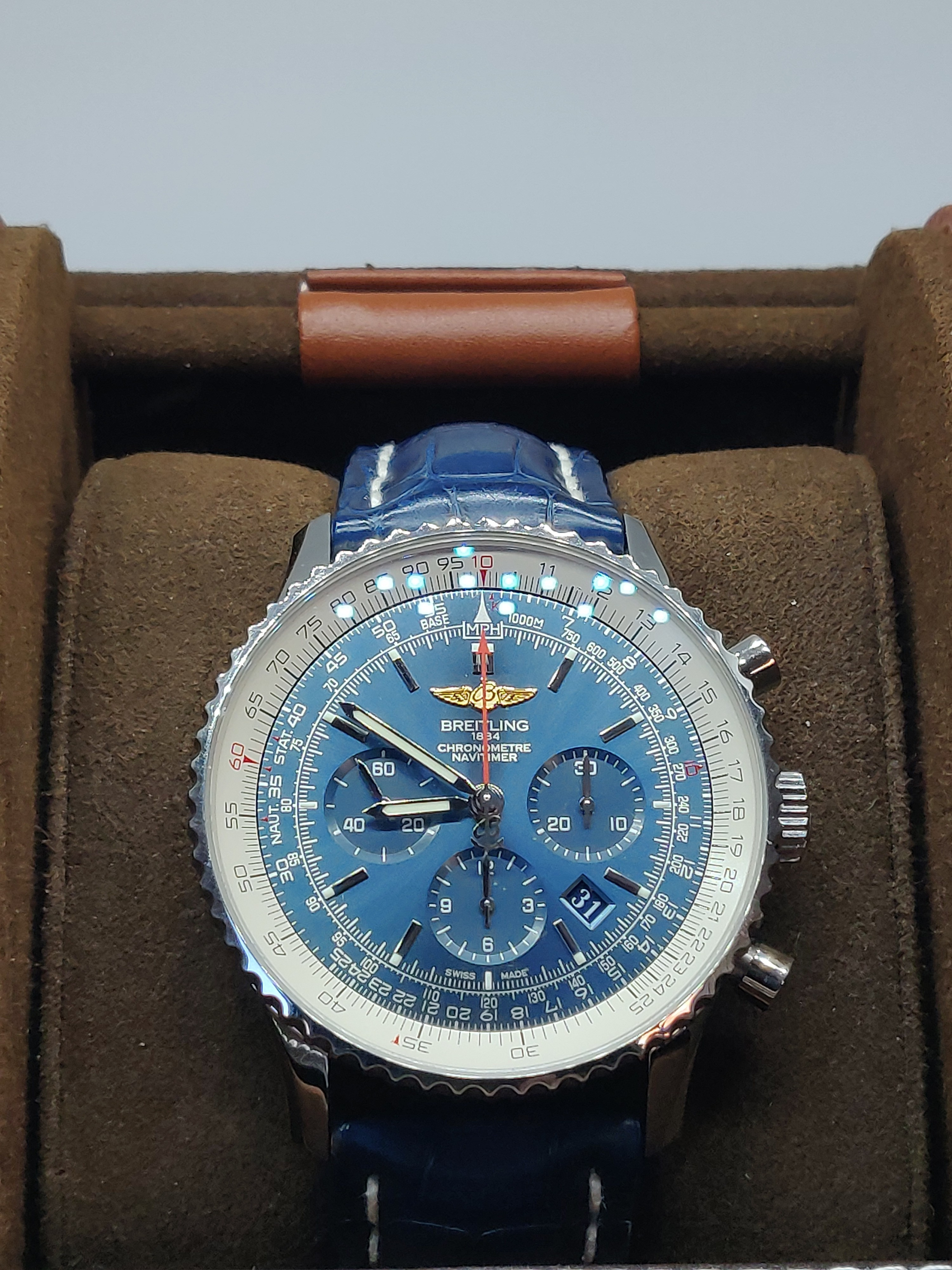 2017 Breitling Navitimer Strap Watch – AB012721/C889