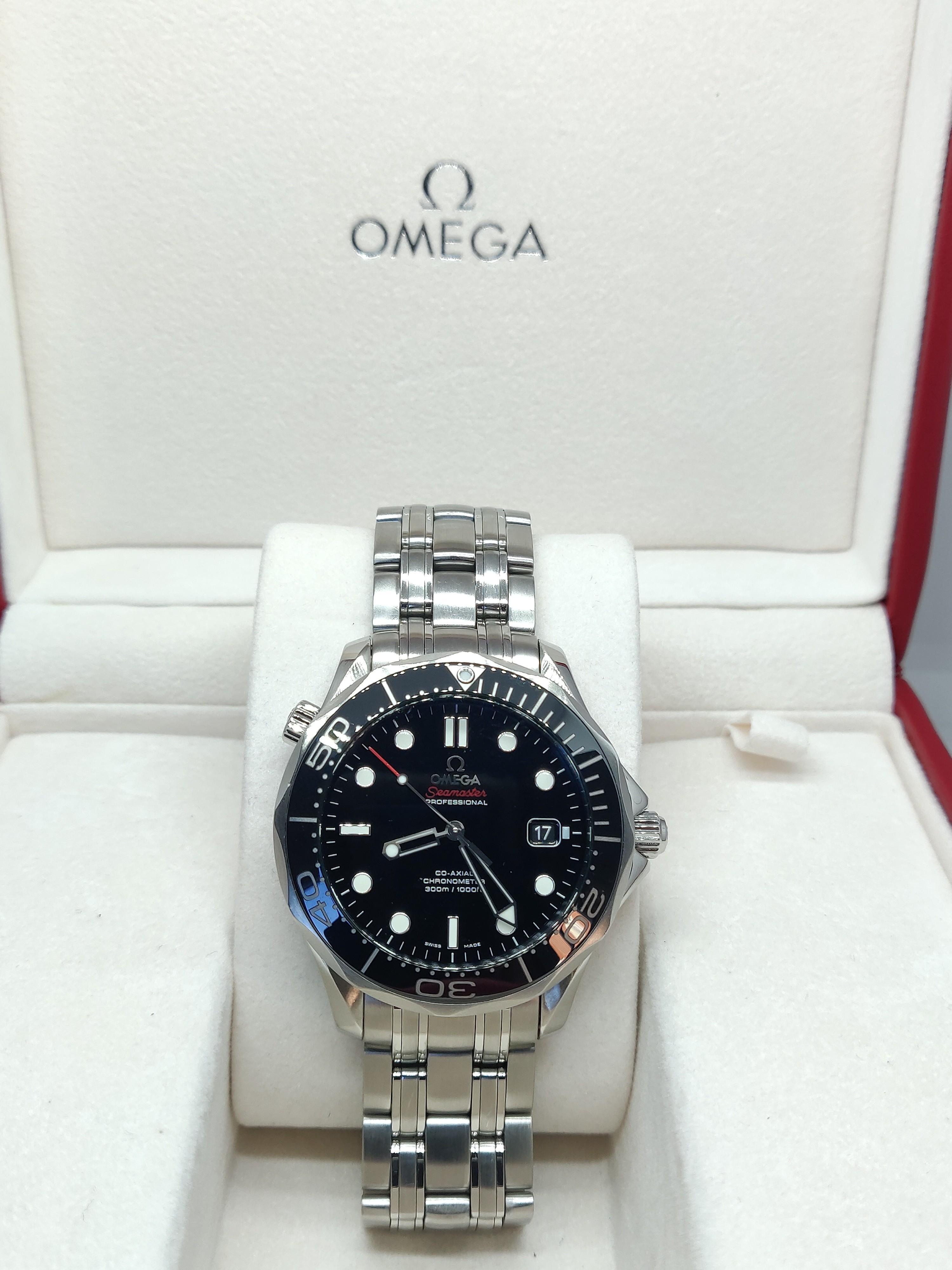 Omega Black Dial 2